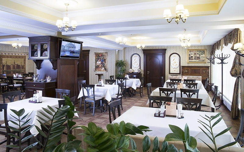 Ресторан в гостинице Палаццо